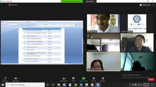 IRCA ISO 22000 Lead Auditor Virtual Online Training