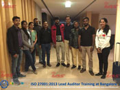ISO 27001 Lead Auditor Training at Bangalore